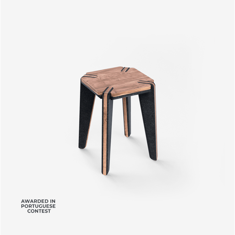 EMBRIA STOOL with valchromat